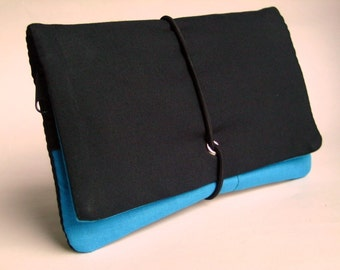 Tobacco Pouch Black / turquoise