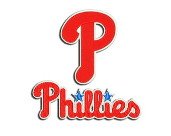 Phillies embroidery design - Machine embroidery design