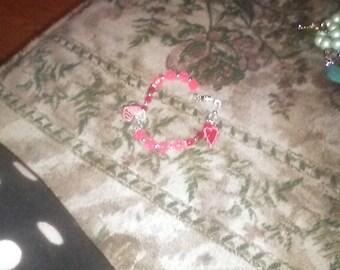 Pink Charm Bracelets