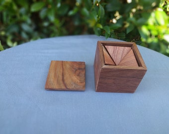 Triangle Puzzle Box