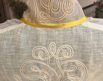 Embroidered handmade jacket