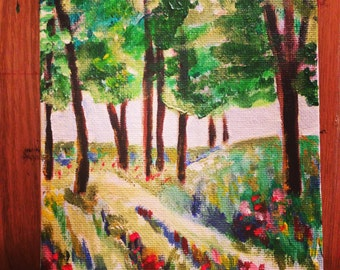 Woodland Walk - Original Acrylic Painting