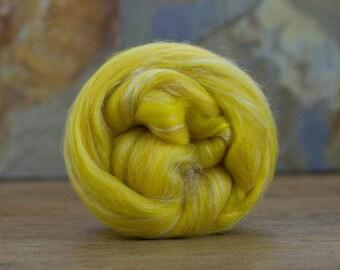 Merino/ Tussah Silk Blend 100g Roving
