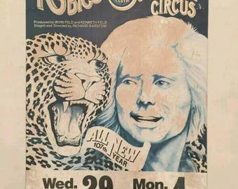 Vintage Ringling Brothers Barnum and Bailey Circus Poster Phoenix Coliseum AZ
