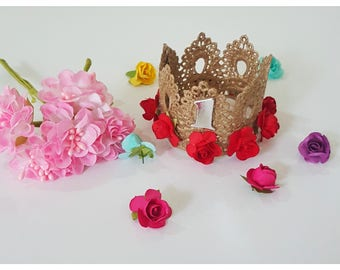 Sherry lace crown