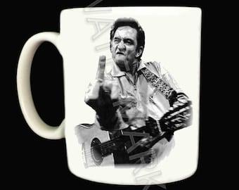 Johnny Cash Mug .. Mugs