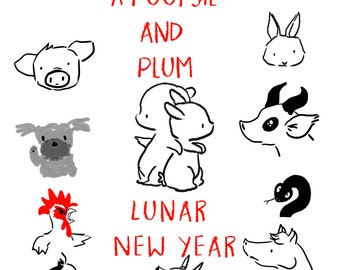 A Poopsie and Plum Lunar New Year