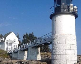 Marshall point light house, port Clyde maine