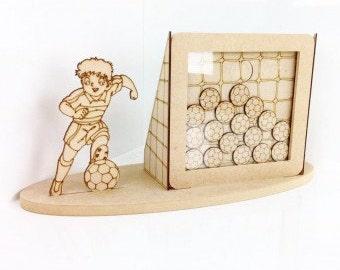 Football drop box, Reward drop box, reward chart, Childrens reward box
