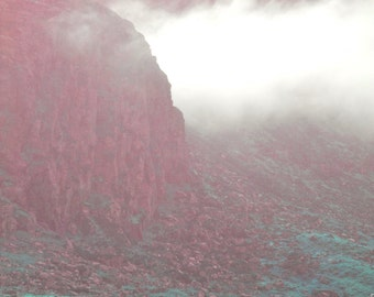 Morning Mist Color Art Landscape Photography - Digital photo print