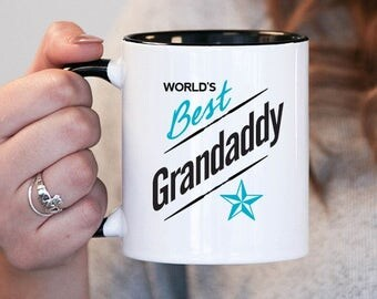 Worlds Best Grandaddy Grandaddy Gift, Grandaddy Birthday, Grandaddy Mug, Grandaddy Gift Idea, Baby Shower, Mothers Day