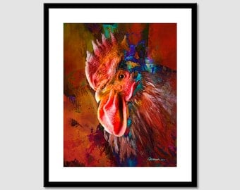 Printable painting Printable abstract painting Art  Modern Painting cock, Wall Art Print, Modern Art Wall Decor, INSTANT DOWNLOAD.