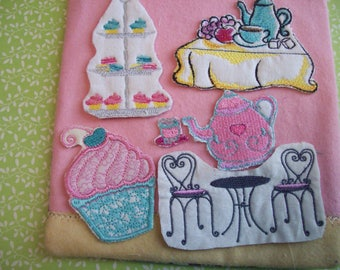 """Time For Tea"""" Flat Doll Play Set (No Doll)"""