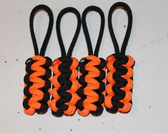 Paracord Zipper Pulls