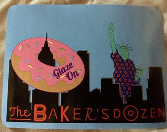 Phish Baker's Dozen Sticker 3x4 inches
