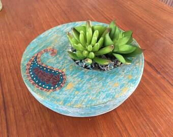 Handmade Patina decoration