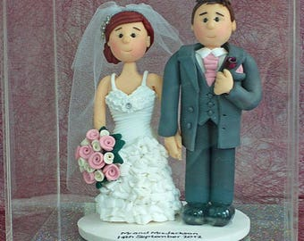 Wedding Cake Topper Acrylic Display Case