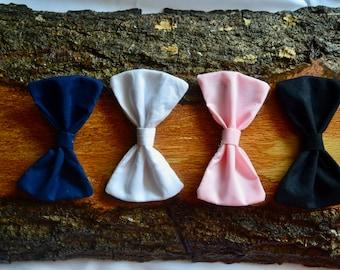Set of 4- Classic Fabric Bows- Essentials