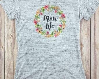 Mom Life Shirt, Announcement Shirt,  Mama Bear Shirt, Pregnancy, Mom Shirt, Mom LIfe, Pregnant Shirt, Preggers, Motherhood, Brunch Tshirt