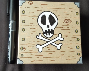 Small pirate themed Gift Box