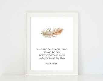 Printable Quote, Wall Art Decor, Minimalist Art, Printable Poster, Quote, Room Decor, Inspirational Quote, Buddhism, Dalai Lama Quote | B22