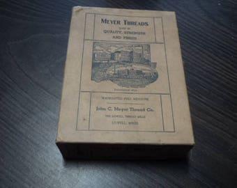 Vintage Thread Box Turn of The Century
