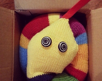 Wool Rainbow Snake