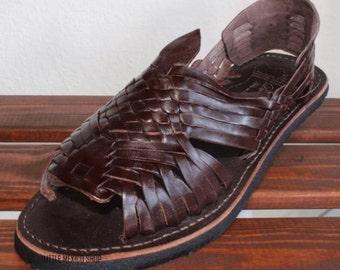 Mexican leather Huarache sandals. Huaraches Mexicanos.