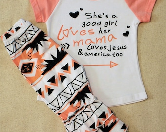 Girls Boutique Style Outfit, She's a Good Girl. Summer Outfit, Vacation Outfit, Trendy Girls Outfit, Ruffle Capri Set