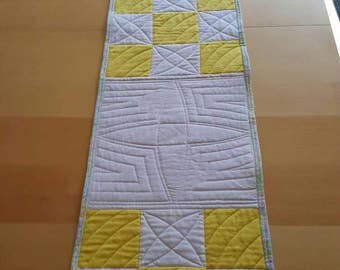Sunny Quilted Table Runner