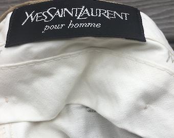 Yves Saint Laurent men wool pants