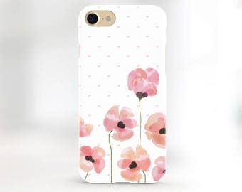 Floral iphone 6s case floral iphone 7 case watercolor iphone 5s case pink floral phone case iphone 7 plus case iphone 6 case iphone se case
