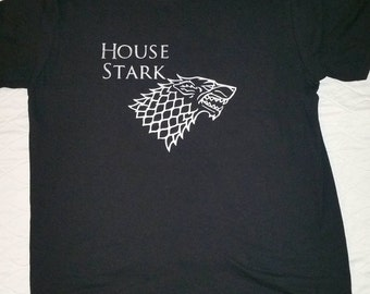 Game of Thrones House Stark shirt
