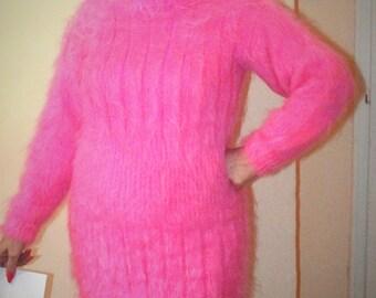 Women mohair dress