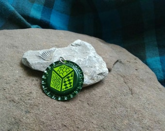 Bottle Cap Pendant - Unknown Brewery