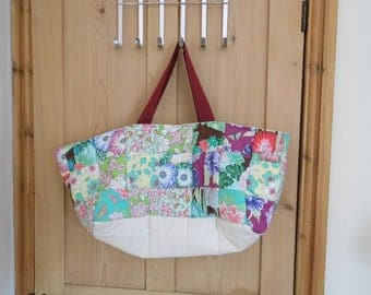 A Beautiful Handmade Patchwork Tote.