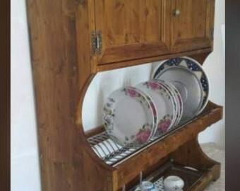 plate shelf credenzino styled