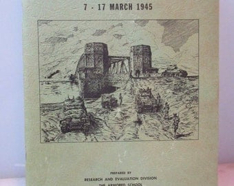 The Remagen Bridgehead 7 17 March 1945 Book prepared by The Armored School