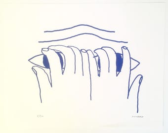 Josh Cochran-Limited Edition Silkscreen Print