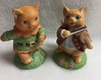 Set of 2 - Shafford Mother Goose - Cats (#036)
