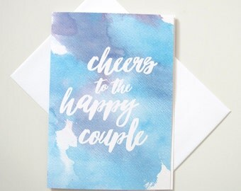 Greeting Card - Cheers to the Happy Couple