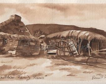 Houlihan family farm, Slea Head, Dingle Peninsula