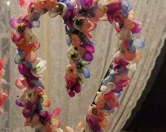 Small Floral Heart Wreaths
