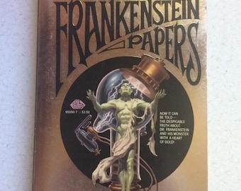 The Frankenstein Papers Novel - Written by Fred Saberhagen