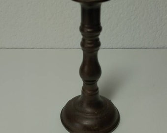 antique, vintage, metal, bronze, candle holder