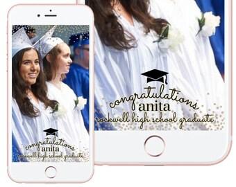 Graduation Custom Snapchat Filter