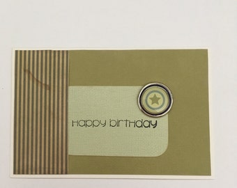 Handmade Card - Happy Birthday (HB27)