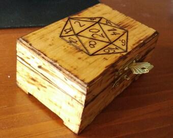 Small Dice Box
