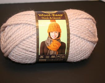 Lion Brand Wool Ease Thick & Quick Yarn