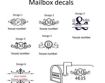 Mailbox Decals